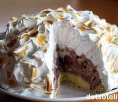Devil's Food Cake with Angel Frosting Omelette, Devils Food, Pudding Desserts, Cheat Meal, Food Cakes, Sorbet, Frosting, Cake Recipes, Deserts