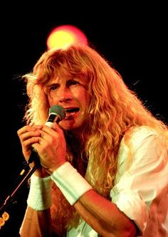 """xuli-jing: """" Dave Mustaine of Megadeth performing live at Rock in Rio in January, Photo credit: RTAtashian. David Ellefson, Rock In Rio, 80s Rock, Dave Mustaine, Some Jokes, Famous Musicians, Heavy Metal Bands, Band Photos, Thrash Metal"""