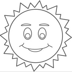 Sun Coloring Pages And Various Types Of Coloring Pages