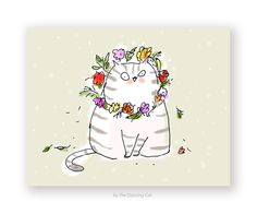 May Day Cat Card