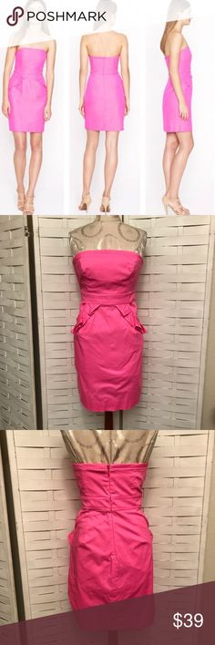 c9f4111448f J.Crew Dress N.1477 Excellent condition hot pink flamenco style dress!  Adorable