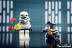 Wall-E and Stormtrooper, LEGO STAR WARS