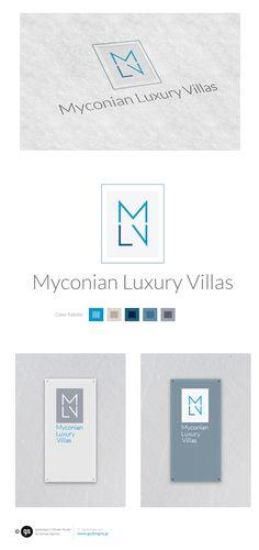 Logo design proposal for real estate agency