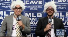 Reason #2174 to love the Rangers: Holland and Dempster's Harry Caray impressions