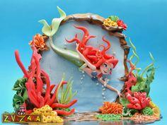 Ariel Under The Sea - Cake by Nasa Mala Zavrzlama - CakesDecor