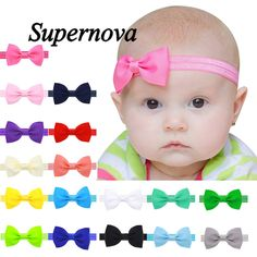 0.10$ (Buy here: http://alipromo.com/redirect/product/olggsvsyvirrjo72hvdqvl2ak2td7iz7/32703946705/en ) 2016 Multicolor Bowknot Mini Headbands girl hair accessories baby headband cute hair band newborn floral headband LS25 for just 0.10$