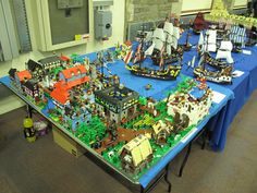 https://flic.kr/p/as8bnM | STEAM/GWLS 2011 | Pics from the 2011 'Great Western LEGO Show' (GWLS), aka STEAM.