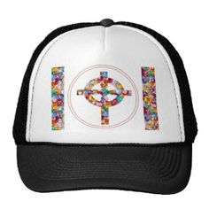 MEDALLION : Winner Trophy Award Colorful Trucker Hat