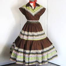 Resultado de imagen de vintage 50's squaw dress