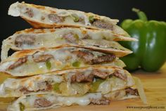 Try a new take on the classic quesadilla recipe with these Cheese Steak Quesadillas. They are sure to be a hit in your house. Adults and kid approved.