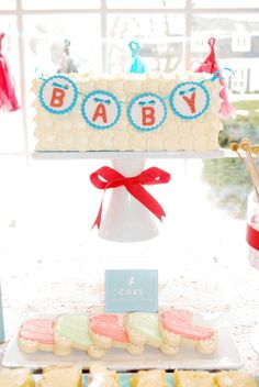 Chic Stork Baby Shower
