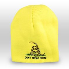 b979ac4716f Dont Tread On Me Beanie Hat Dont Tread On Me
