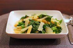 Schöner Tag noch! Food-Blog mit leckeren Rezepten für jeden Tag: Cremige Zitronenpasta mit Spinat und Kapern
