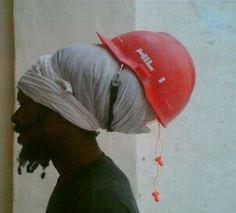 rastaman helmet