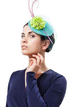 14 ideas for your 'something blue' Something Blue Wedding, Something Old, Katherine Elizabeth, Royal Ascot, Mother Of The Bride, Headpiece, Winter Hats, Wedding Inspiration, Handmade