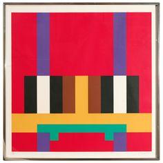 1stdibs.com | Herbert Bayer. 'Structure on Red'