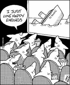 I just love happy endings! Hmm. It is all in your point of view really. Perspective...