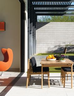 Modern for indoors and out. Styling by Studio Marcus Hay