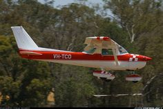 1975 Cessna 150 Aerobat on final. VH registration prefix indicates this aircraft is registered in Australia.
