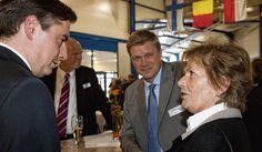 """""""Club 2013"""": Kritik am Spendensammelclub der CDU - Niedersachsens Ministerpräsident David #McAllister zu Gast bei Fahrzeugbauer Krone im emsländischen Werlte. (Foto: Michael Hehmann) http://www.noz.de/62733491"""