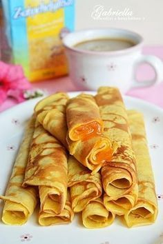 Zabpehelylisztes palacsinta Diabetic Recipes, Diet Recipes, Snack Recipes, Cooking Recipes, Vegetarian Recipes, Healthy Recipes, Snacks, Healthy Desserts, Healthy Cooking