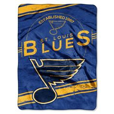Louis Blues Double Play Woven Jacquard Throw Blanket THE NORTHWEST COMPANY St