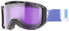 Uvex Snowstrike Black Mat/Psycho Lens Goggles