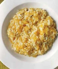 Butternut Squash Risotto  From soups to salads to sides, this cold-weather gourd can be prepared in a variety of ways.