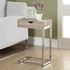 Monarch Specialties I 3 Accent Table with Drawer at Lowe's Canada