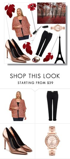 """Plussizeforless"" by plussizeforless ❤ liked on Polyvore featuring Current/Elliott, Alexander Wang, Michael Kors and plussizeforless"