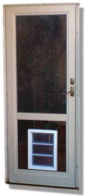 Merveilleux Storm Doors With Pet Doors   Ideas   Pinterest   Storm Doors, Pet Door And  Doors