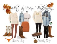What to wear for Thanksgiving!