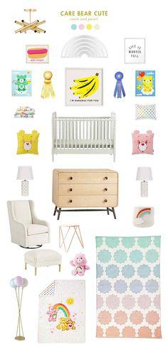 care bears inspired baby room