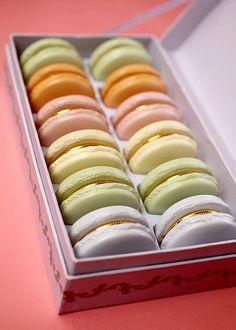 Macaron Trinket Boxes by Bakerella, via Flickr