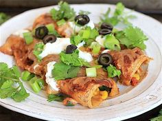 Everything But the Kitchen Sink Vegetable Enchiladas