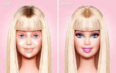 barbie senza trucco - Cerca con Google