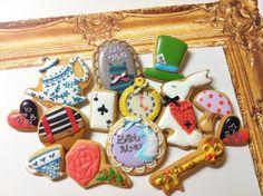 C.bonbon : Alice in Wonderland cookies
