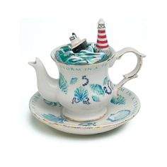 Teapottery – Storm in a Teacup made by Teapottery English Teapots