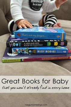 Great baby books that aren't the same old same old that people give at showers - Rae Gun Ramblings: