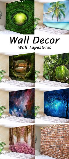 home decor ideas for old wall:Wall Tapestries