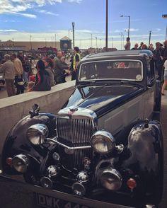 Much shiny. 🙌🏻 #vintage #nostalgia #morecambe #classiccar #alvis…