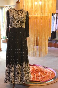 Feel effortlessly stylish and elegant in this moss crepe printed floor length dress, now available at moh!  #mosscrepe #dress #dresses #indianwear #indianfashion #mohstringsattached