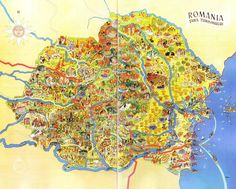 Post with 0 votes and 1326 views. Illustrated Map of Romania (Prior to M-T Pact) x-post from r/Romania I Think Map, Romania Map, Visual Map, Life Map, World History Lessons, Map Globe, Old Maps, Vintage Maps, My Heritage