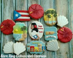 Vintage Puerto Rico by Love Bug Cookies | Cookie Connection