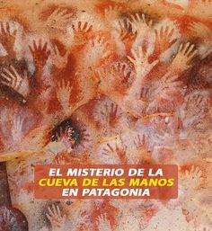 La Cueva de las Manos en Argentina tiene un increíble grupo de pinturas de arte rupestre, hecha por los habitantes indígenas (posiblemente Patagonia, South America Travel, You Are Beautiful, Bolivia, Central America, Belize, Ecuador, Puerto Rico, Chile