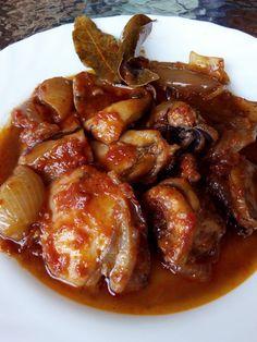 Chicken Wings, Pork, Meat, Ethnic Recipes, Kale Stir Fry, Pork Chops, Buffalo Wings