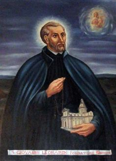 Saint of the Day – October 8 – St Giovanni/John L:eonardi (1541-1609) – Priest and Founder – Patron of -: Pharmacist, Clerics Regular of the Mother of God of Lucca #pinterest #stjohnleonardi Worked as a pharmacist's apprentice while studying for the priesthood. After ordination on 22 December 1572, he worked with prisoners and the sick. His example attracted......