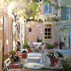 Outdoor Terrace, 2017 - Laura Lacambra Shubert.  Lilith's Place
