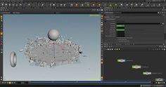 How to Keep Fragments Settled on the Ground in Houdini