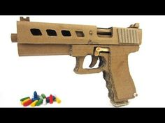 How To Make Cardboard Sniper That Sh00ts -  With Magazine - YouTube
